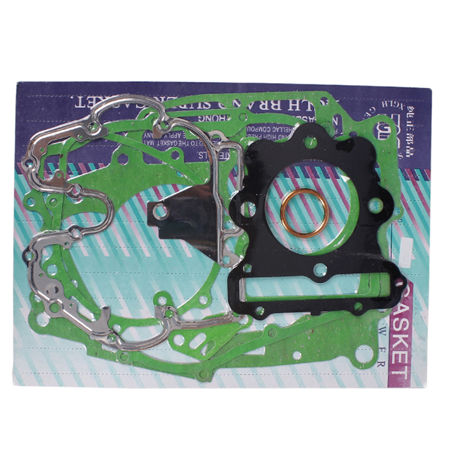 1 Set Motorcycle Complete Engine Crankcase Cover Cylinder Gasket Kits Motocross Accessories For <font><b>Honda</b></font> XR250 XR250R XR250L <font><b>XLR250</b></font> image