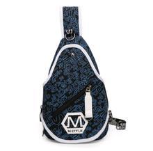New Large Capacity Canvas Men Chest Pack Crossbody Shoulder Sling Bag Leisure Travel Bags LJ-014