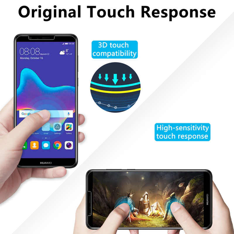 Phone Screen Protector Film for Huawei Y9 Y5 Y6 Prime 2018 Protective Glass for Tempered Glass for Huawei Y9 2019 Y7 Pro 2018