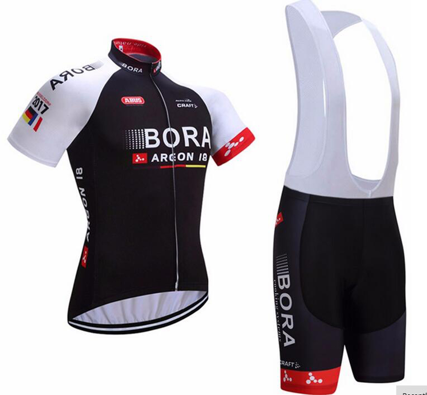 Team Motocross Jersey Summer Short Sleeve BORA Cycling Clothing Riding Sports Breathable Bib Shorts Pro Bike Clothes Wear MTB xintown 2018 cycling jersey clothing set summer outdoor sport cycling jersey set sports wear short sleeve jersey bib shorts sets