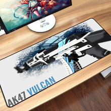 CS GO Gaming Keyboard Mouse Pad Mat Large Size Asiimov AK47 M4A1 AWP CSGO Gamer Mousepad for PC Computer Notebook Mouse Gaming