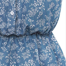 Sexy 2017 denim dress Women vintage bodycon summer dress Beach party short dresses casual blue vestidos WT#T3