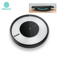 QI Wireless Charging Nillkin Fast Magic Disk Wireless Charger Device For Samsung Galaxy Note 8 S8