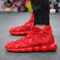 2016 Otoño versión Coreana de los zapatos de Los Hombres zapatos zapatos de Moda zapatos casuales zapatos de hip-hop L531