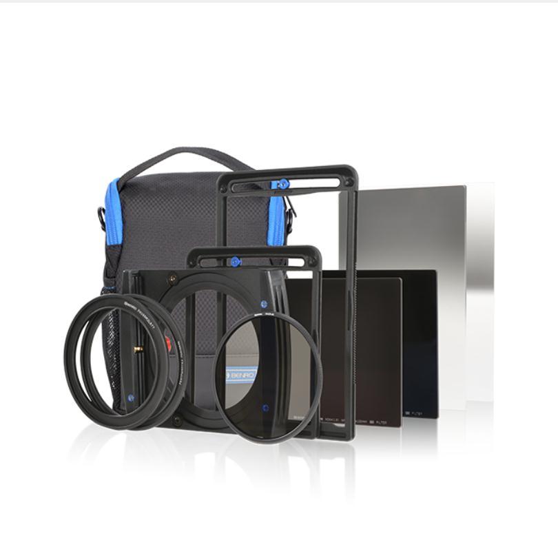 Benro FH100M2K3 100mm system Filter Holder kit ( FH100M2+ND64+ND1000+Soft GND8+Reverse GND8+82mm CPL+Bag )