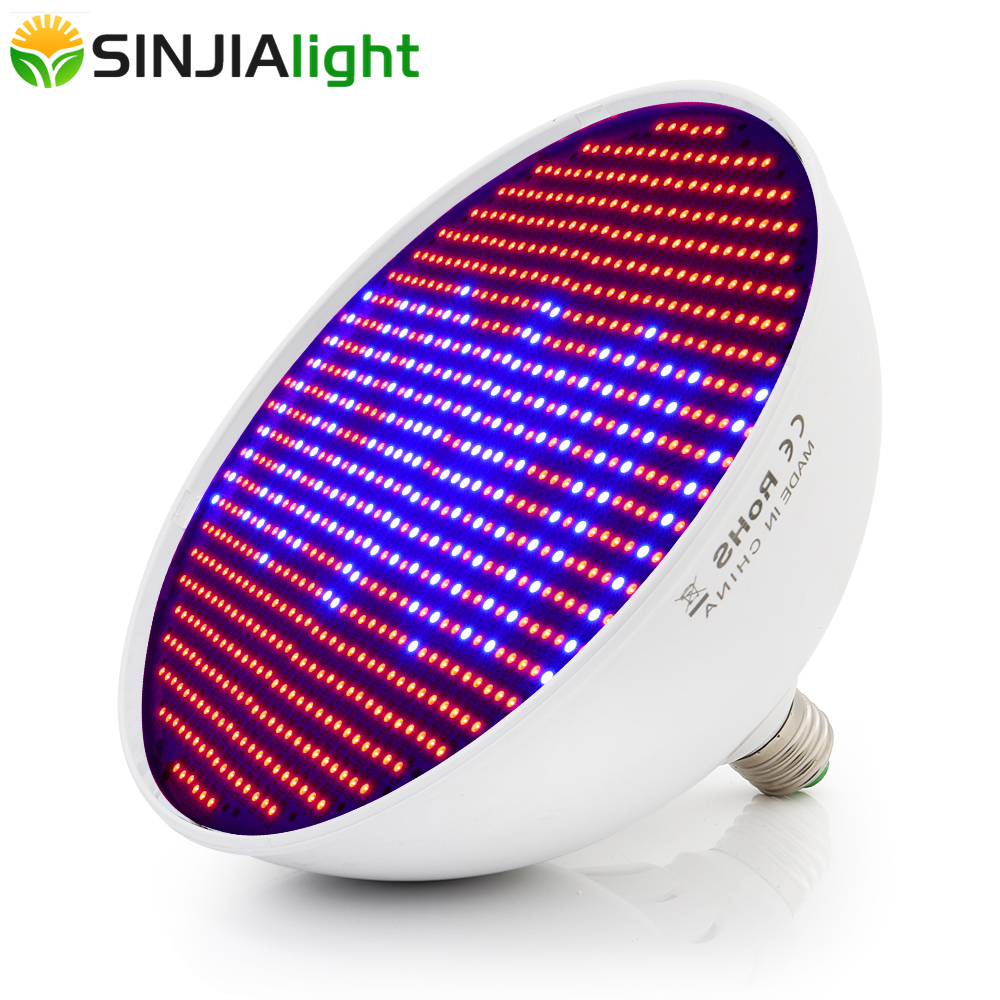 80W 26W LED Bulb For Plant Growth Lamps 800/260LEDs Grow Light Red+Blue Phyto Lamp For Indoor Grow Box Houseplants Flowers Seeds