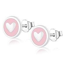 Anti-allergenic 925 Sterling Silver Stud Earrings