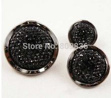 10pcs/lot Black sewing button for sweater Bulk buttons Sewing accessories Buttons wholesale(SS-3021)(China)