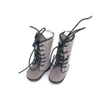 Tilda 3 2cm Doll Boots For Blythe Doll Toy 1 8 Mini Canvas Dolls Shoes For