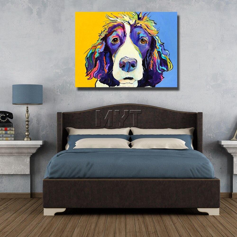 Künstler Moderne Hund Wand Bilder Kein Gestaltet Oder Mit Gerahmte ...
