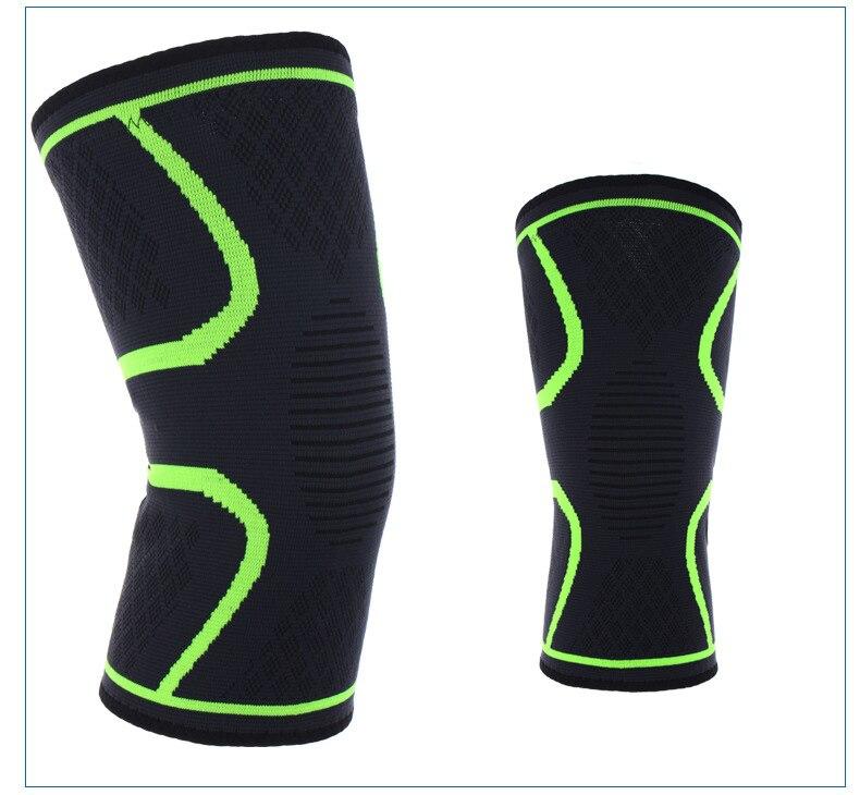 1 Paar Im Freien Radfahren Sport Basketball Radfahren Fitness Nicht-slip Atmungs Stricken Nylon Sommer Schutz Getriebe Knie Pads 2019 Offiziell