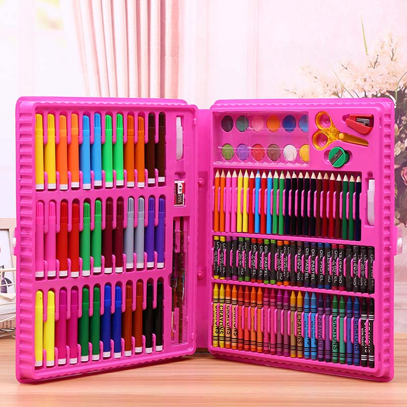 151pcs Set Baby Drawing Crayons Colorful Funny Toy Toddler Safety