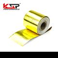"""Kingsun 2 """"x 5 Metro Rolo Autoadesivo Refletem Uma Barreira de Ouro Envoltório De Calor"""