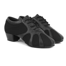 Children Latin Dance Shoes Boys Sports National Sneakers Standard Soft Bottom Men Ballroom Dancing Square