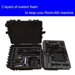 Di alta qualità DJI ronin MX custodia protettiva resistente agli urti custodia protettiva con custom EVA fodera