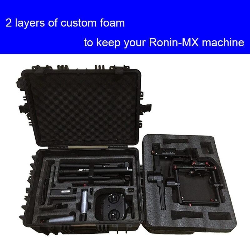 Haute qualité DJI ronin MX étui de protection résistant aux chocs étui de protection avec personnalisé EVA doublure