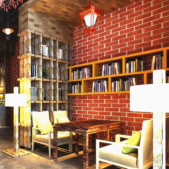 Chinesischen Stil Ziegel Grau Muster Tapete Wand Hintergrund Wohnzimmer TV  Hause Wallcoverring Grau Rot Blau