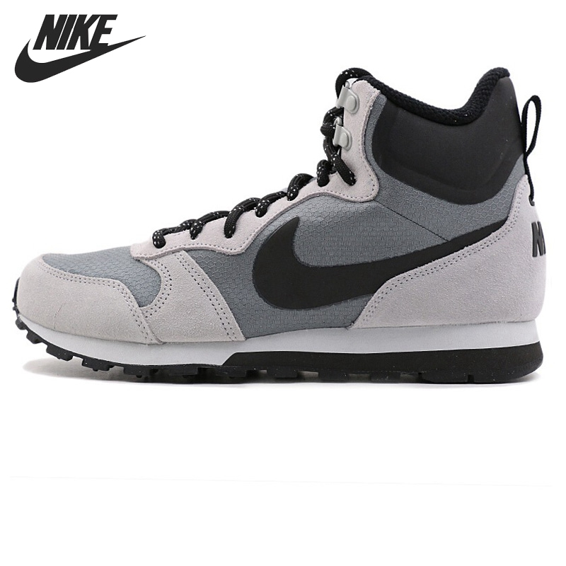 Original New Arrival NIKE MD RUNNER 2 MID PREM Men s Running Shoes Sneakers a226435a490bf