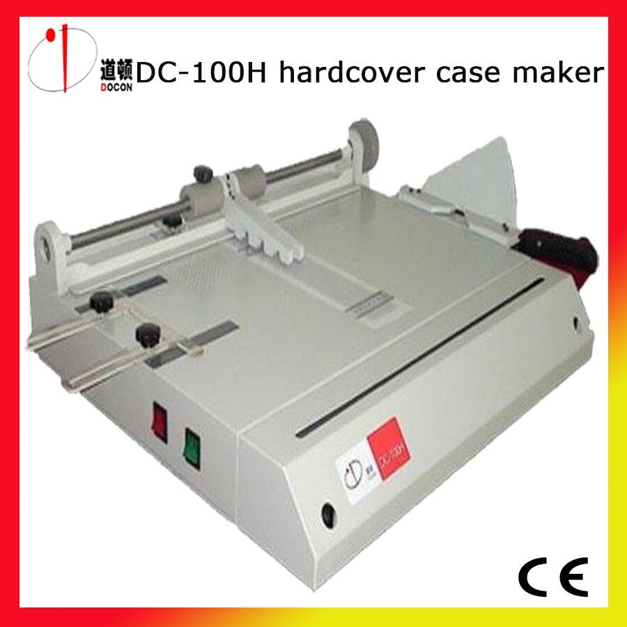 Book Covering Machine : A hardcover case maker machine