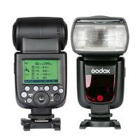 nikon sony Godox V860II GN60 i-TTL HSS 1 / 8000s Speedlite פלאש w / Li-ion Battery + Xpro פלאש משדר עבור Canon Nikon Sony פוג