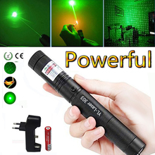 Green Laser Hunting Tactical sight High Power Dot tactical 532 nm 5mW laser 303 pointer verde lazer Pen Burning Match