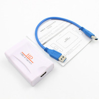 1pcs New Hot USB 3.0 Video Capture Card Adapter HDMI 1080P HD Game Capture for PC Life Video Streaming Video Conference