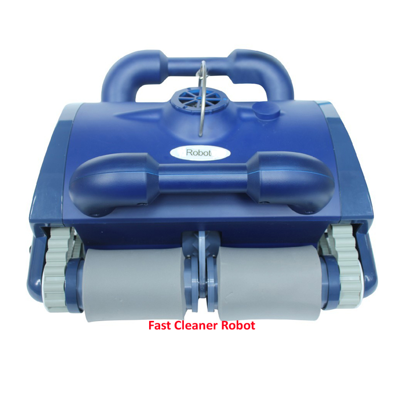 US $994.4 12% OFF|Auto Swimming Pool Cleaning Robot, Intelligent Pool  Vacuum Cleaner With Caddy Cart, Wall Climbing and Remote Control-in Vacuum  ...