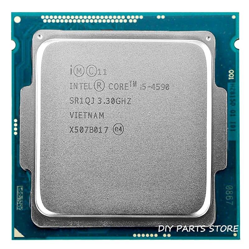 Процессор Intel Core I5 4590 I5-4590 LGA 1150 3,3 ГГц Quad-Core 6 Мб оперативной памяти DDR3-1600 DDR3-1333 HD4600