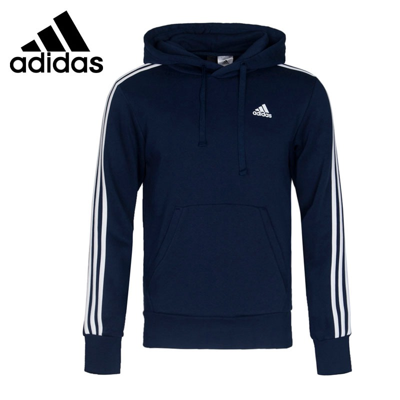 Original New Arrival 2018 Adidas Performance ESS 3S P/O B Men's Pullover Hoodies Sportswear