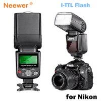 Neewer VK750 II i TTL Speedlite Flash w/ LCD Display for Nikon D7100 D7000 D5300 D5200 D700 D600 D90 D80 D80 Digital SLR Camera