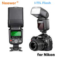 Neewer VK750 II i TTL Speedlite Flash w/ LCD Display for Nikon D7100 D7000 D5300 D5200 D700 D600 D90 D80 D80 Digital SLR Camera