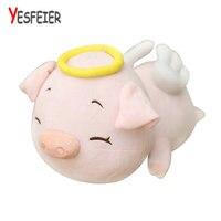 40-80 cm Màu Hồng Sang Trọng Thiên Thần Lợn Toy Thú Nhồi Bông Doll Lợn Bé Trẻ Em Trẻ Em Kawaii Nhà Món Quà Sinh Nhật cửa hàng Trang Trí Ornament
