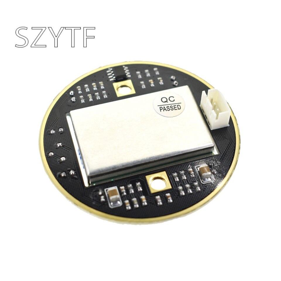 Wireless 10.525 GHz radar detector probe sensor module HB100 with base plate