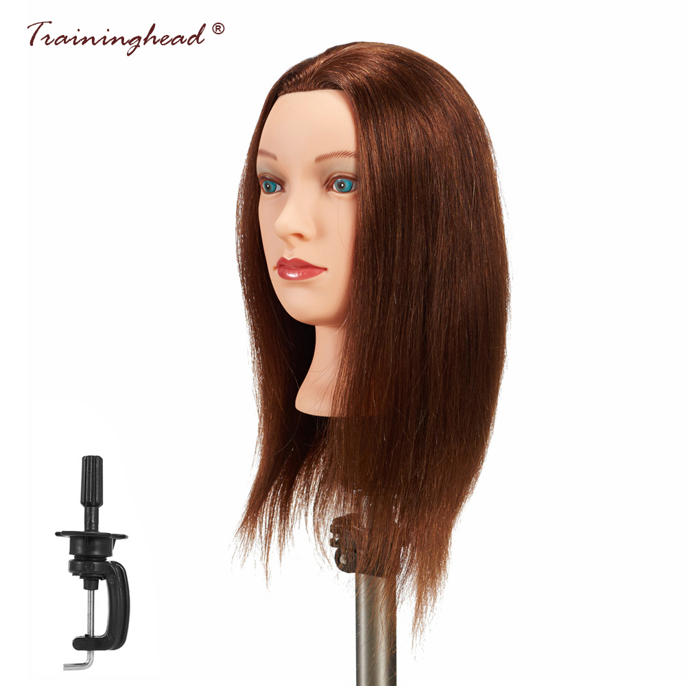 Salon Female Mannequin Head Practice Training Cosmetology Make Up Manikin Head