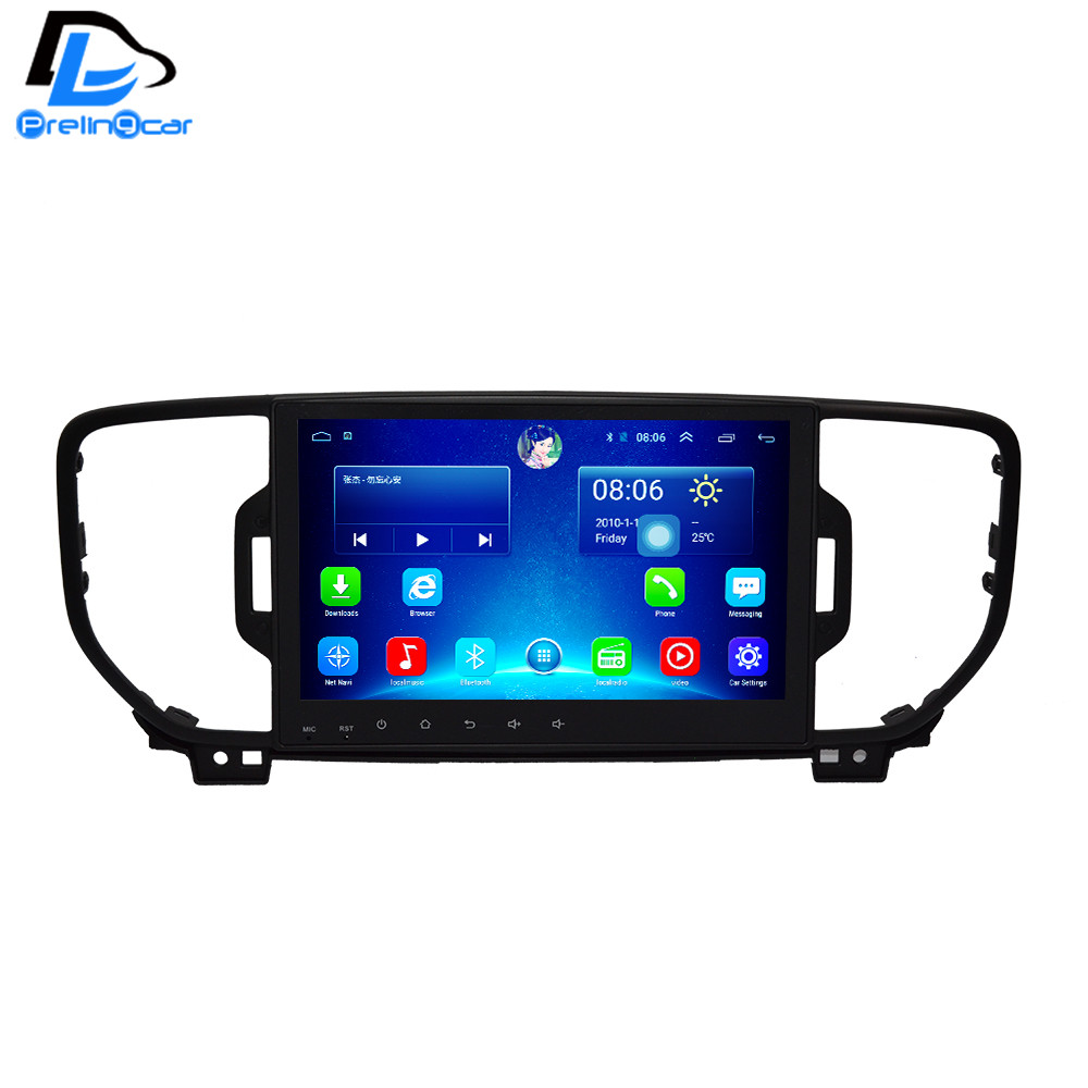 32G ROM android 6.0 car gps multimedia video radio player in dash <font><b>for</b></font> <font><b>KIA</b></font> sportage 2016 2017 navigation stereo 2din