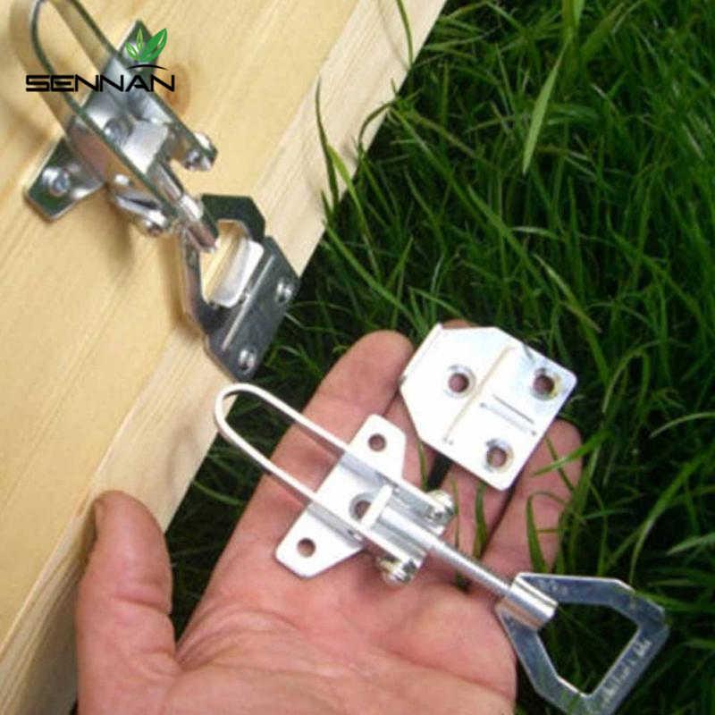 DLKKLB 1 סט כוורות כוורת תיבת אבזם חבל העברת מחבר קלטת כוורת מחברים יד ציוד כלי עבור תיבת דבורת