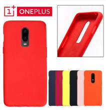 Egeedigi Official Liquid Silicone Phone Cases For OnePlus 6 6T 7 Pro Full Protect Back Cover Capa For One Plus 6/6T 7Pro Coque