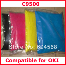 High quality color toner powder compatible for OKI C9500 Free shipping