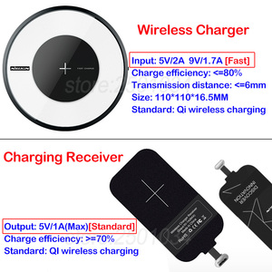 Image 3 - Nillkin Micro USB Type C Receiver Qi Wireless Charger for Xiaomi Mi 9 8 6 6X SE Mix 3 Poco F1 Redmi K20 7A Note 5 6 7 Pro Lite
