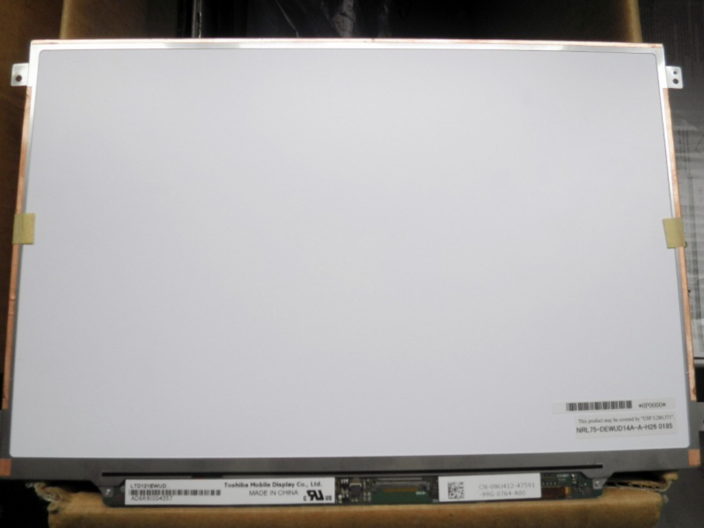 ФОТО QuYing Laptop LCD Screen LTN121AT04 LTD121EWUD FOR DELL E4200 1220 D420 D430