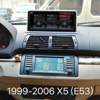 10,25 Android 4,4 Автомобильный мультимедийный плеер для BMW X5 E53 (1999 2006) gps навигации оригинальное автомобильное радио обновления