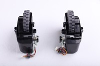 For X500 Left Right Wheel Assembly For Vacuum Cleaning Robot 1 Pack 2 Pcs Robot