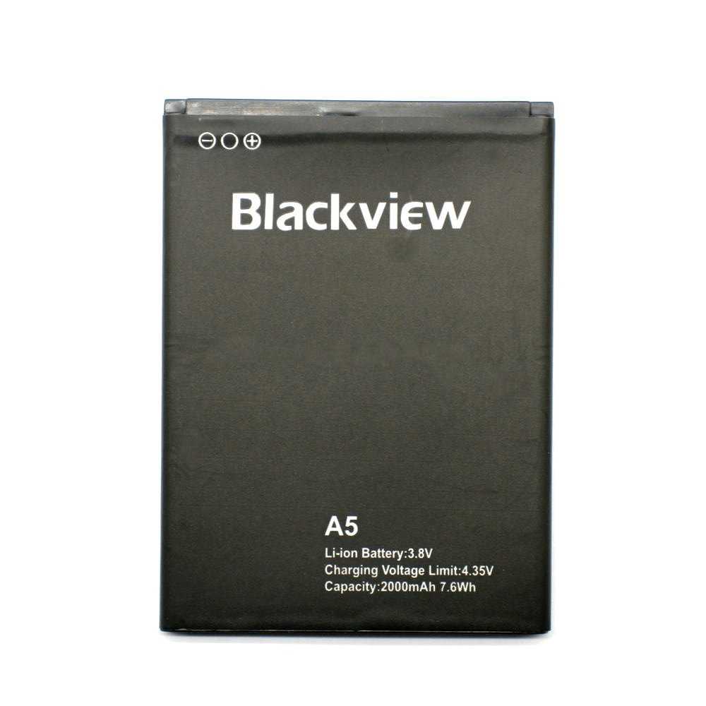 2019 New Blackview <font><b>A5</b></font> <font><b>Battery</b></font> 2000mAh Back Up <font><b>Battery</b></font> Replacement For Blackview <font><b>A5</b></font> Smart Phone image