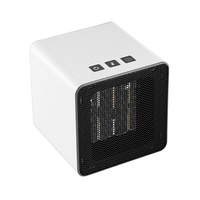 Electric Heater Mini Heater Fan Desktop Household Handy Heater PTC Heating Warmer Machine For Winter Electric Warmer Home
