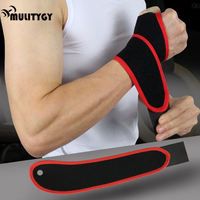 Mulitigy 1pc Sports Safety Protective Wrist Wraps Straps Carpal Tunnel Perfect To Used In Any Sport