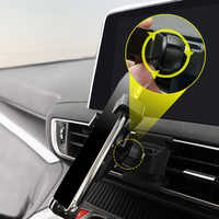 Support pour téléphone portable support de prise d'air de voiture pour Peugeot 3008/5008 2017 2018 2019 accessoires de voiture