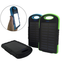 External Battery Charger Case 8000mAh Solar Panel Sun Power Bank Silicone Edges Antiknock For IPhone 8
