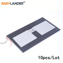 10pcs/Lot 3.7 V 6000 mah 35100170 New original 10 inch tablet polymer lithium battery For Power bank e-book video game