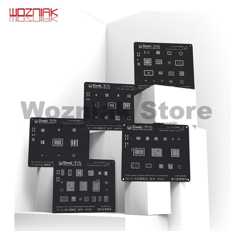 Qianli modelo de plantio de estanho 3d para o iphone 5 5S 6 p 6 s 6sp 7 p 8g 8 p hdd baseband cpu energia lógica ic manutenção rede de aço