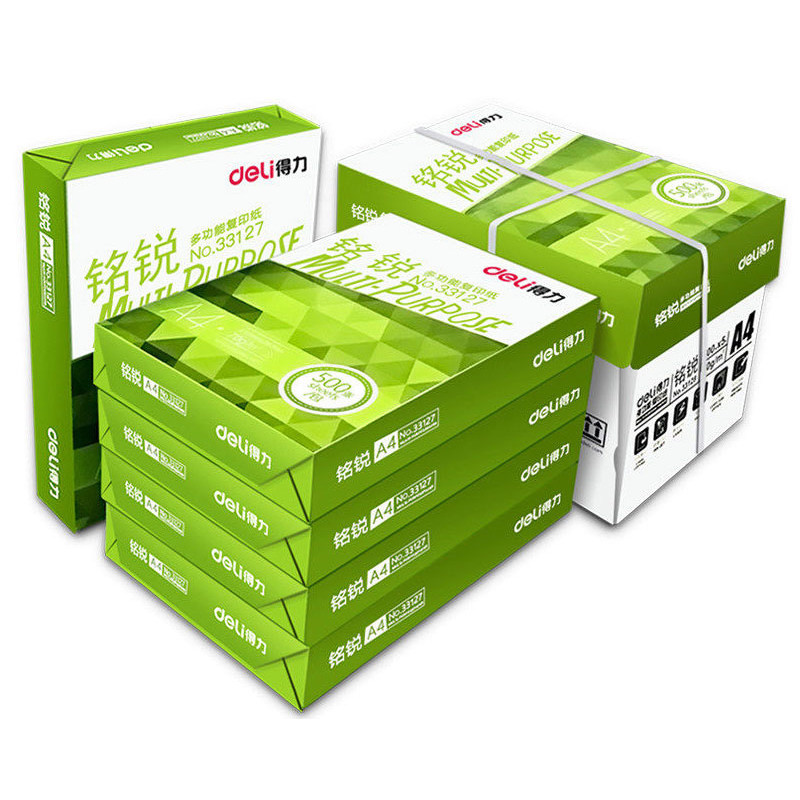 DELI A4 Paper School And Office Copy Paper 2500 Sheets A4 Copy And Printer Paper For Office Copying And Printing Office Supplies